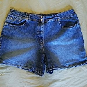 St. John's bay stretch shorts